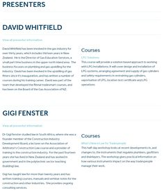David Whitfield, Gas Service, New Zealand, Management, Presents, Profile, Training, Education, Design