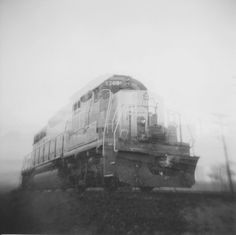 Ghost Train 1 by Bryan Lutz White Photography, Community, Train, Black And White, Black White, Blanco Y Negro, Black N White, Trains, Communion