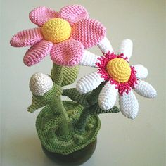Flower Pot amigurumi pattern