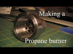 Propane burner for my DIY foundry - YouTube