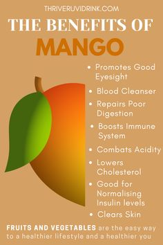 Health Facts, Health And Nutrition, Health And Wellness, Vegetable Nutrition, Mango Health Benefits, Fruit Benefits, Healthy Food Choices, Healthy Tips, Healthy Recipes