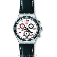 Men's Swatch Encircled Chronograph Watch