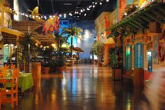 Key Lime Cove- Illinois. Having a birthday party here that would be awesome. Water park, arcade, spa, making stuffed animals, food, they'll never get bored