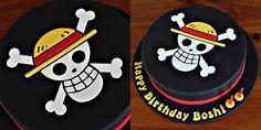One Piece Logo Cake