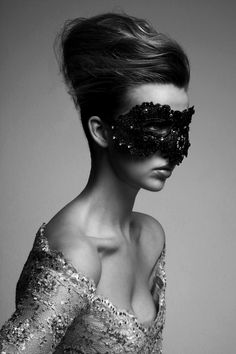 *masked and mysterious*