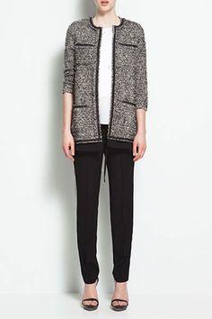 Chanel-esque jacket by Zara