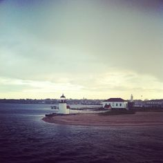 Sunset on arrival in #Nantucket. Our NY editors are road-tripping #NewEngland
