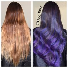 Hair Make-over by Guy Tang