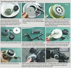 How to make your own roller skate wheel follow focus