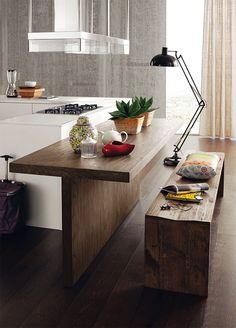 На фотографии мебель для кухни Alta Corte MODERNO CUCINE Eco Lab 6/9 (2)