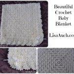 crochet baby blanket-free crochet pattern-main