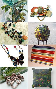 ~Into The Jungle~ by Cappriell McQuiston on Etsy--Pinned with TreasuryPin.com