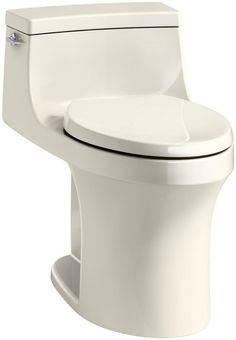 View the Kohler K-5172 San Souci 1.28 GPF Elongated One-Piece Comfort Height Toilet with AquaPiston Technology - Seat Included at FaucetDirect.com.