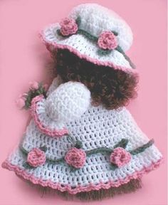 Picture of Free Rose Broom Doll Pattern