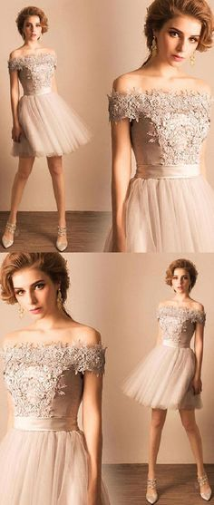 Prom Dresses Short #PromDressesShort, Cute Homecoming Dresses #CuteHomecomingDresses, Homecoming Dresses 2018 #HomecomingDresses2018, Homecoming Dresses Lace #HomecomingDressesLace, Prom Dresses Lace #PromDressesLace, Cute Prom Dresses #CutePromDresses