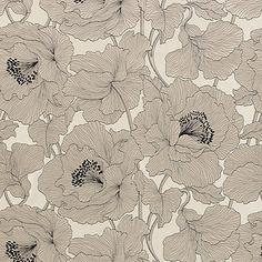 Buy John Lewis Atulya Flower Curtain, Cream | John Lewis