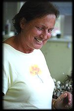 Pam has been in the flower business all of her adult life.  She won't tell just how long that's been.  She's a gem.