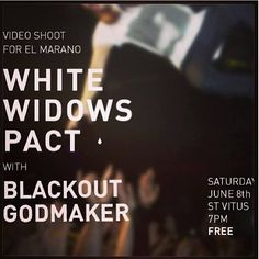 June 8th, 2013 at Saint Vitus Bar with White Widow Pact and Blackout