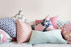 Los cojines son complementos ideales para decorar tu #hogar