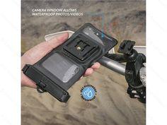 """Scosche HandleIt™ Pro H2O vodotěsné pouzdro na mobil s displejem do 5,9"""" s držákem na řídítka   Sunnysoft"""