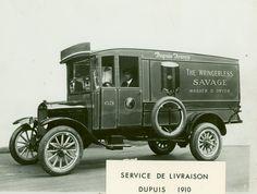 Camion de livraison, Dupuis & Frères