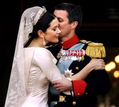 Mary Donaldson married Crown Prince Frederik the 14th of May 2004.