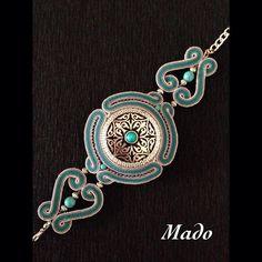 Сутажные украшения от Mado в национальном стиле.…