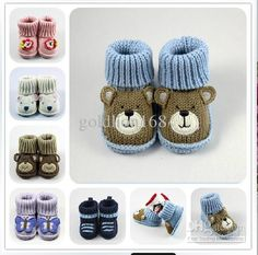 Hot Sale Baby Christmas Shoes Baby Booties Crochet Pattern Animal Peppy Crochet Booties Knitted Shoe Childrens Country Boots Kids Boots For Sale FromDer Neuen With warm and comfortable childrens country boots and kids boots for sale and yo. Crochet Baby Jacket, Crochet Baby Boots, Knit Baby Booties, Booties Crochet, Crochet For Boys, Crochet Shoes, Christmas Shoes, Christmas Baby, Baby Knitting Patterns