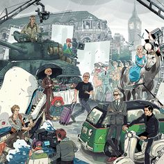 Wallpapers and Artworks: A Life In Illustration: The Art of Sam Bosma Sam...