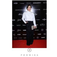 @anita_sokolowskaa in @podwikaofficial #podwika #podwikaofficial #polishdesigner #elegantoutfit #elegantlook #blackandwhithe #classy #fashioninspiration #redcarpetfashion #celebritystyle #actress #anitasokolowska #bestlook #nightout #dawidwolinski #dawidwolinskishow