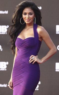 Purple bandage dress :)