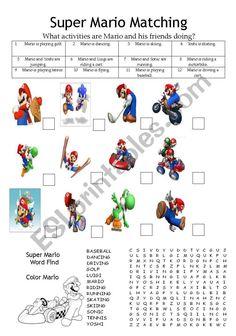 mario baseball coloring pages - photo#25