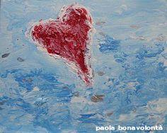 Deepheart (24x30) 2006 mixed on canvass