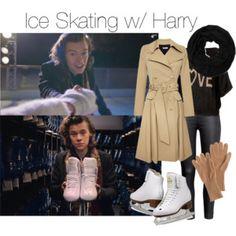 Ice Skating w/ Harry