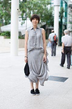 SHENTONISTA: Cloud Nine, Man Man, IT, Dress and shoes from Hong Kong. #shentonista #theuniform #singapore #fashion #streetstyle #style #ootd #sgootd #shentonway #wiwt #popular #people #male #female #womenswear