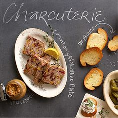 Serve this country-style pate with apple or pear slices, toasted baguette rounds, and stone ground mustard.