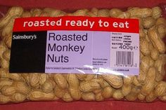 Hilarious Food Labels-Monkey Nuts