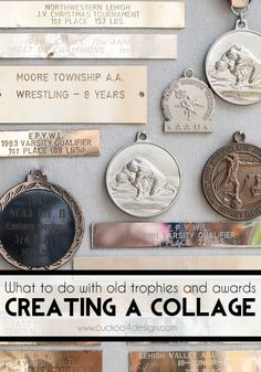 How to repurpose your old medals and awards - Cuckoo4Design