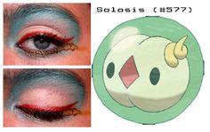 Solosis inspired mak up Pokemon Halloween, Make Up, Inspired, Disney, Makeup, Beauty Makeup, Bronzer Makeup, Disney Art