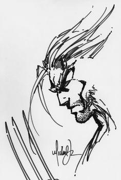 Wolverine Sketch - Michael Turner