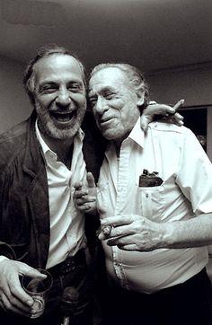 Ben Gazzara y Charles Bukowski
