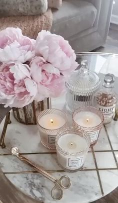 Sunday Morning, Fragrances, Candle Holders, Sweet Home, Candles, Lifestyle, Home Decor, Girly Girl, Art