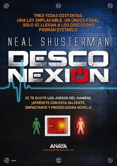 """Nuevo sorteo en nuestro blog: ¡gana un libro y un cartel de """"Desconexión"""" firmados por el propio Neal Shusterman! Solo tienes que contestar a una pregunta."""