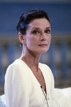 Audrey Hepburn - Love her for growing old gracefully! No Botox!