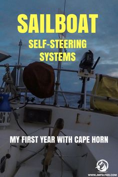 Manning the tiller for days on end is impossible - sailboat wind vane self steering systems use the power of wind and water to do the work.