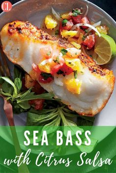 Dinner-party elegance in a 20-minute dish? It's possible, when you start with great ingredients that require little embellishment. Here, we use sea bass, a tender, mild-flavored fish with a lovely buttery quality. | Cooking Light