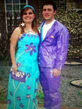 duct tape prom fashion