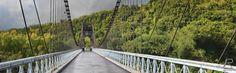 Le pont suspendu - Photo Graphisme Création