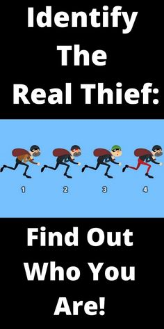 Use logic and intuition to identify a real thief! He is about to steal something precious. Which should be stopped? If you have chosen... Spiritual Psychology, Intuition, Awakening, Spirituality, Psychology Facts, Spiritual
