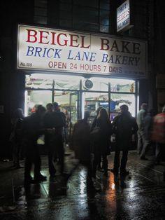 The best bagels...ever..Beigel Bake in Brick Lane